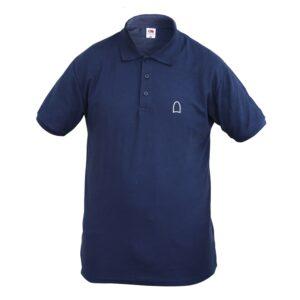 Polo Shirt Men Dark Blue