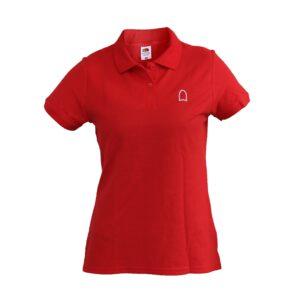 Polo Shirt Women Red