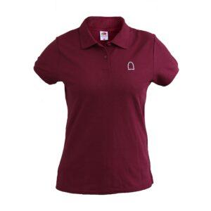Polo Shirt Women Ruby