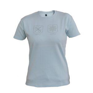 T-Shirt Lady Ice-Blue
